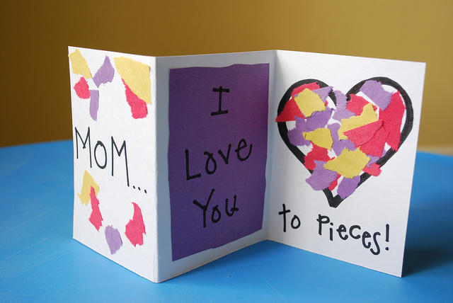 mothers day cards for kids to make